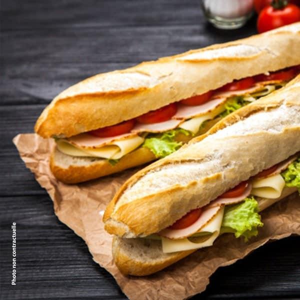 Menu sandwich Samedi