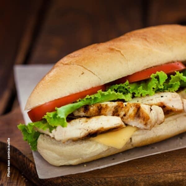 Menu sandwich Dimanche